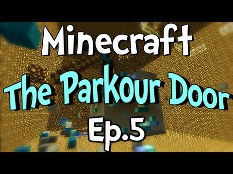 Minecraft - The Parkour Door w/ Clash Ep.5