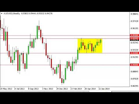 AUD/USD Forecast for the week of June 30, 2014, Technical Analysis