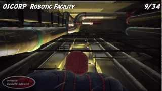 The Amazing Spider-Man - OSCORP Robotic Facility Collectibles
