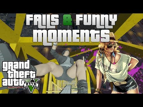 GTA 5 Online Missions, Fails & Funny Moments