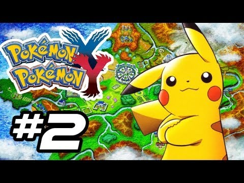 Pokemon X and Y Gameplay Walkthrough - Part 2 - ELECTRIC SHOCKER!! (Pokemon Gameplay 3DS HD)