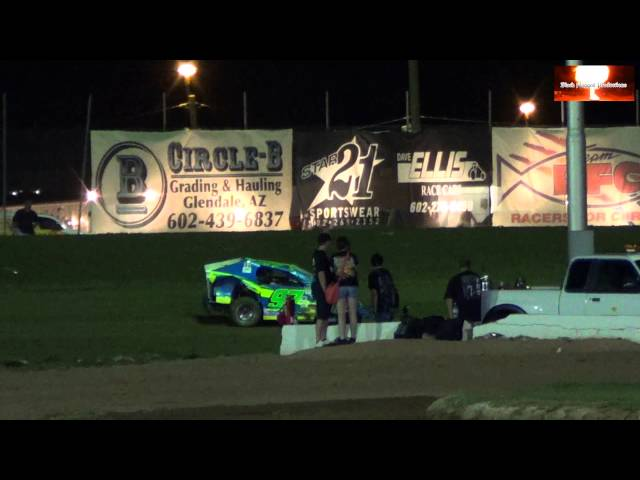 AZ Modlite Main Event From Canyon Speedway Park March 16th 2013