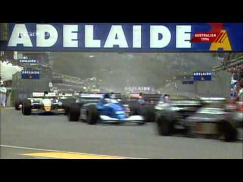 Damon Hill vs Michael Schumacher WM Fight in Melbourne/Australien 1994 Was für ein Finale!