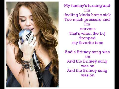 Miley Cyrus - Party In The U.s.a Lyrics ! video