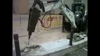 Video Backhoe attachment Euro Implemetos II