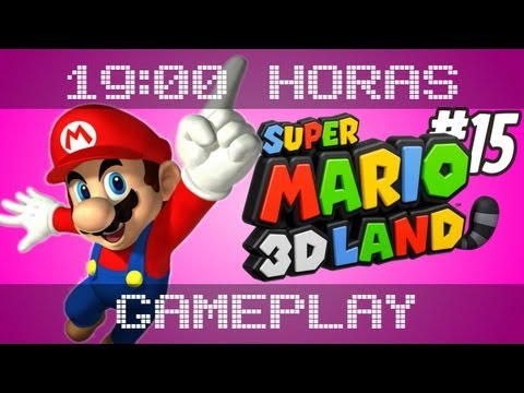 Super Mario 3D Land 4-3, 4-4 (parte 15) - Gameplay das 19:00hs.