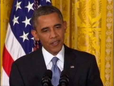Complete Obama Press Conference on NSA Surveillance, Snowden & US-Russia Relations - August 9, 2013