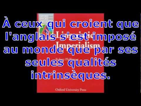 L'anglais, une langue impraliste et coloniale