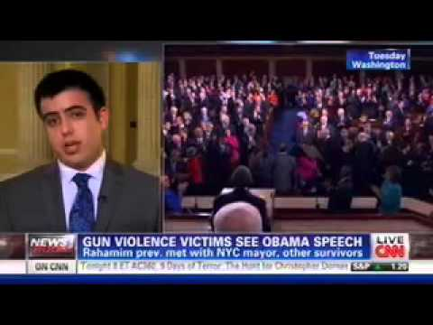 Sami Rahamim, Gun Violence Surivor and Keith Ellison's State of the Union Guest, Talks to CNN