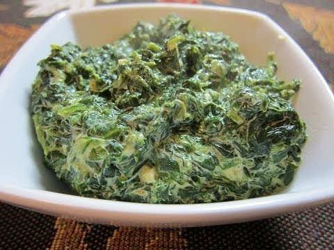 Holiday Recipe: Creamed Spinach