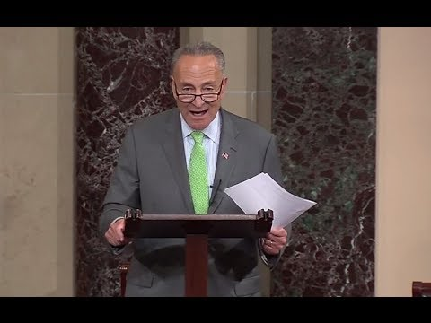 Schumer, in Senate floor speech: There is no moral equivalency between Hamas & Israel