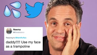 Mark Ruffalo Reads Hilarious Thirst Tweets