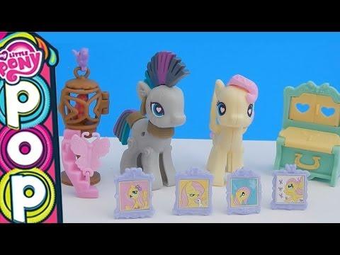 My Little Pony Pop Zecora and Fluttershy Cottage Decorator Kit