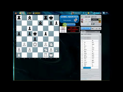 Chess World.net : Chess Cube Bullet Zone - 31st October 2011 - Gambits Galore! (Chessworld.net)