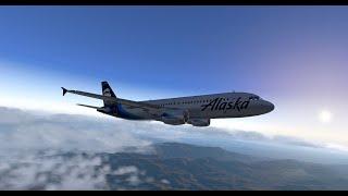 XP11: FF A320 with BSS update test flight
