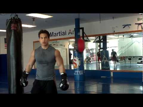 Cardio Training Episode 2 by Musclemania Pro Tuan Tran: Double End Bag Image 1