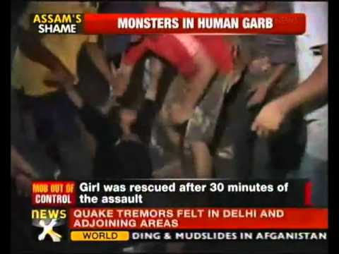 Guwahati Teenage Girl Molested by Mob on Open Road for 30 Minutes thumbnail