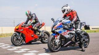 2019 BMW S1000RR vs  Ducati Panigale V4R Review