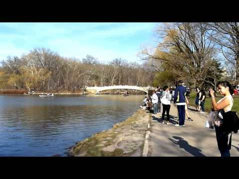 Walking Tour NYC #1 - Central Park (pt.1)
