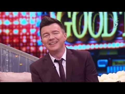 Rick Astley Rollin' Good Times Chn5 Singapore 2015