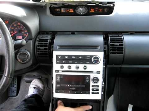 How to Remove Radio / CD Changer / Navigation from 2005 Infiniti G35 for Repair.