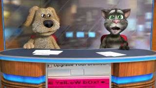 "Talking Tom & Ben News "" Holy Mother Fuck it's the ice-cream truck """
