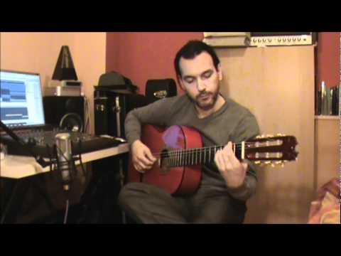 Estudio de arpegios para guitarra en Si menor - Perpetuum Mobile