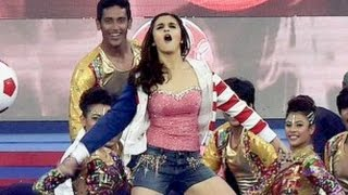 ISL 2015 Opening Ceremony - Alia Bhatt Hot Performance