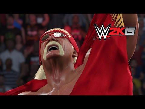 Next Gen Wwe 2k15 Fantasy Showdown - Hulk Hogan Vs. Rusev video
