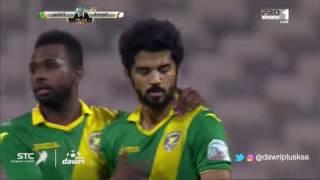 هدف الخليج الأول ضد الوحدة (محمد المطوع) في الجولة 10 من دوري جميل