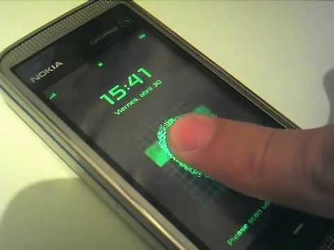 Finger Print - Nokia 5530