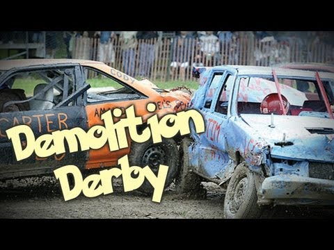 Stock Car Demolition Derby