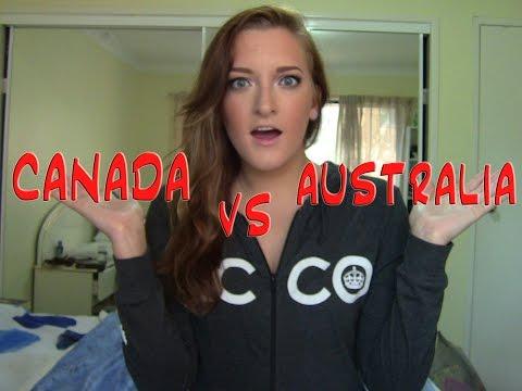 CANADA VS. AUSTRALIA | DormRoomDivas