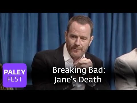 Breaking Bad - Cranston and Gilligan on Jane