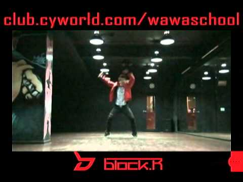Wawa Dance Academy Blockb Nanrina Dance Step Mirrored Mode video