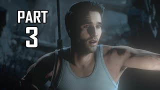 Until Dawn Walkthrough Part 3 - Nathan Drake Mode (PS4 Let