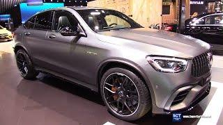 2020 Mercedes AMG GLC Class GLC 63 Coupe - Exterior Interior Walkaround -Debut 2019 NY Auto Show