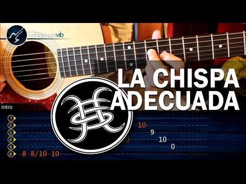Como tocar La Chispa Adecuada HEROES DEL SILENCIO Version Original HD Tutorial COMPLETO