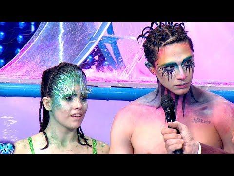 El jurado evaluó el Aquadance de Sofi Morandi y Julián Serrano