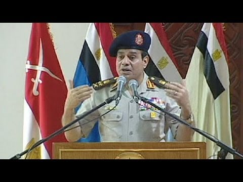 Egypt's army-backed government moves to dissolve Muslim Brotherhood.