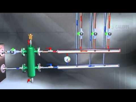 Гидрострелка для системы