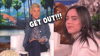 Celebrities Who Insulted Ellen Degenere On Her Own Show