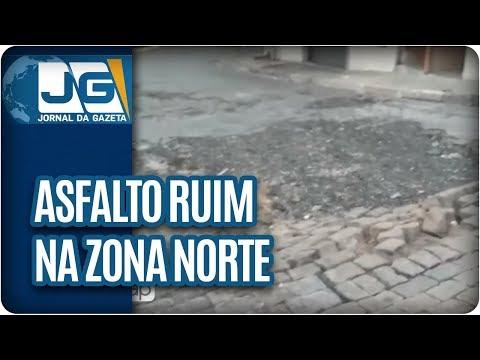 Morador reclama do asfalto em rua da ZN