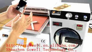 14 inch Full Automatic LCD Vacuum Laminating Machine-From Gowell