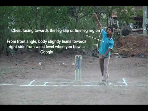 How to bowl a Googly in cricket - Type-1