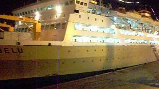 Pelni Ship KM Lambelu Klakson 3x