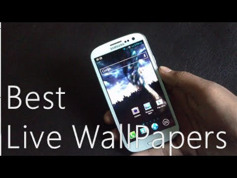 TOP 10 BEST ANDROID LIVE WALLPAPERS (SAMSUNG GALAXY S3)