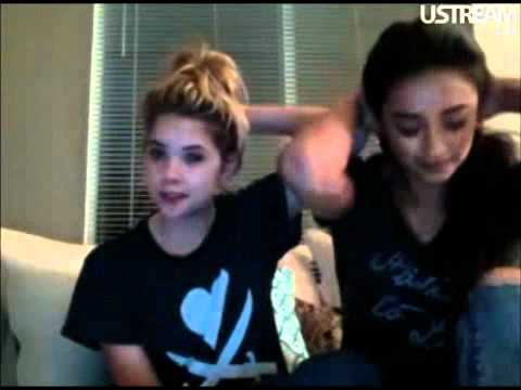 Shay Mitchell & Ashley Benson Live Chat Part 1 6/14/11