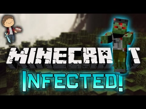 Minecraft: Infected ZOMBIES! Mini-Game w/Mitch, Jerome & Ian! – 2MineCraft.com