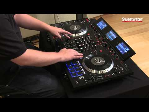 Numark NS7III DJ Controller Demo by Sweetwater